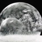 【アート動画】シャボン玉をマイナス15℃の部屋で凍らせてみたところ