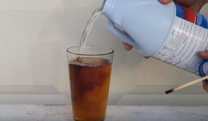 コーラ 漂白剤1