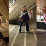 【動画】男2人が合体変装、1人分のチケットで映画館に侵入できるか?