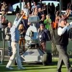【動画】ゴルフロボットがPGAツアーのイベントでホールインワンに成功