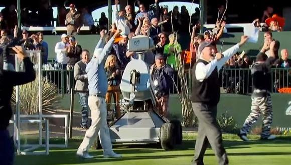 ゴルフロボット ホールインワン
