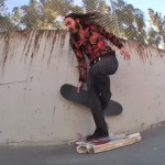 【スケボー】リッチー・ジャクソンの超ユニークなスケートボードトリックが話題に