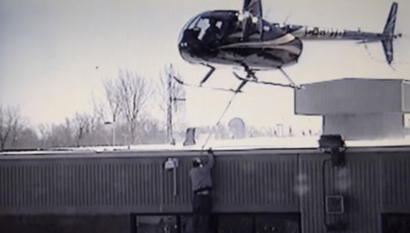 ヘリコプター 脱獄