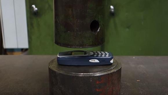 Nokia 油圧プレス