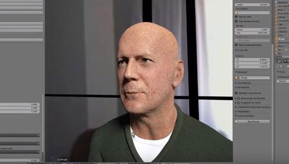 ブルース・ウィリス 3Dモデル