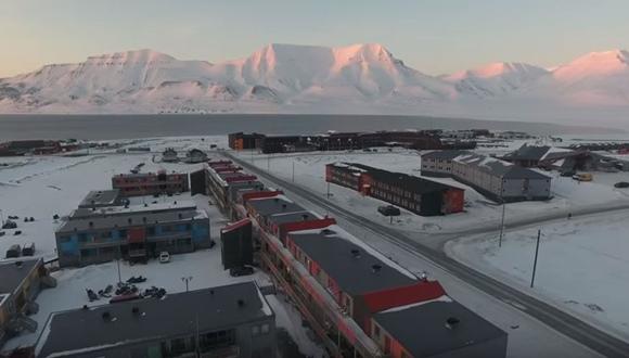 世界最北の町