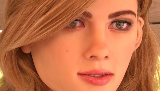 スカーレット・ヨハンソン ロボット3
