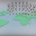 【イラストレーション】もし地球の人口が100人だったら