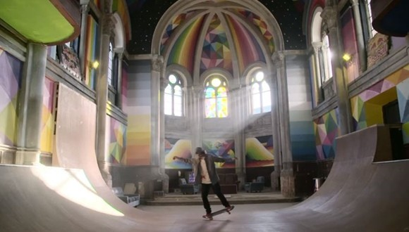 教会 スケートパーク