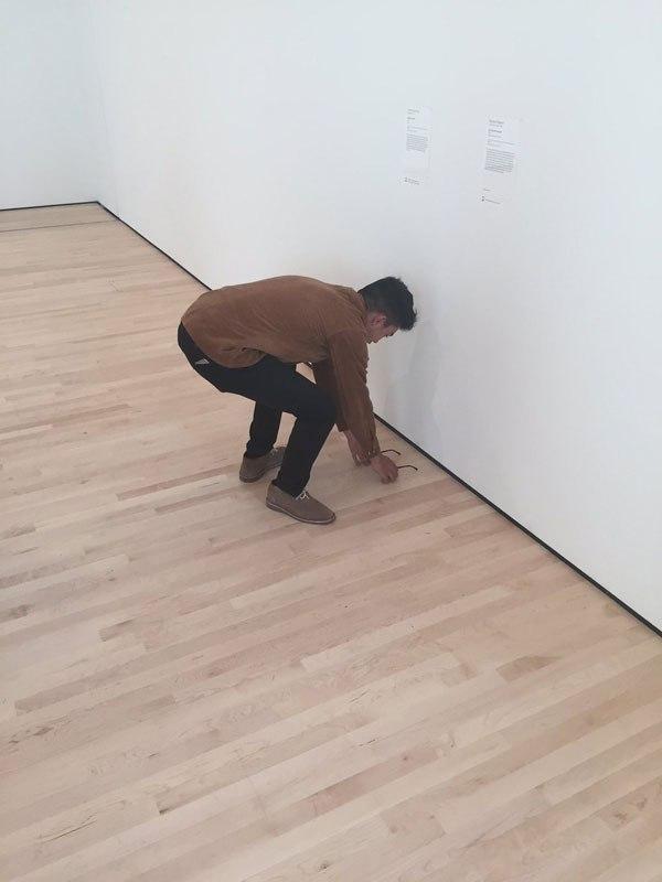 美術館 メガネ1