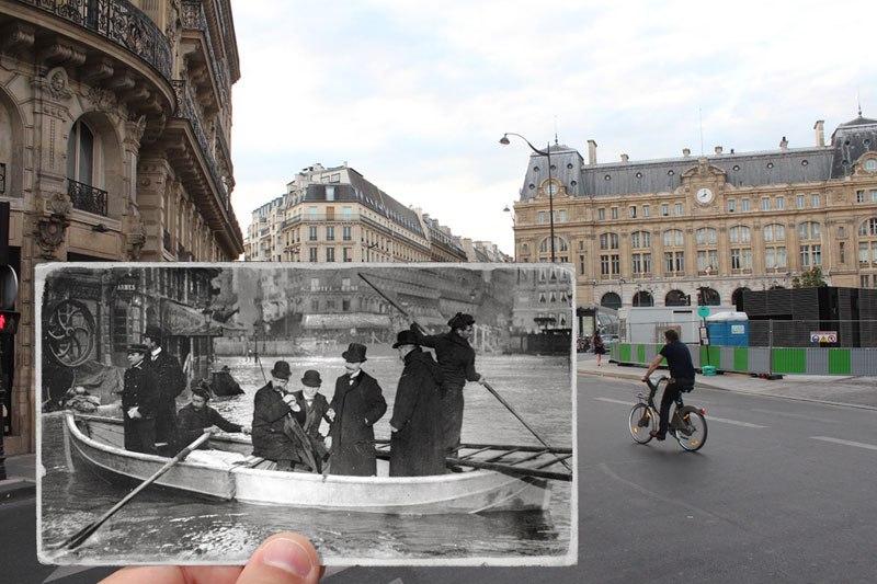 パリ大洪水 1910 2016 3