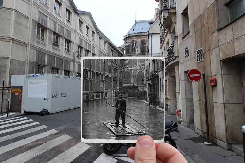 パリ大洪水 1910 2016 6
