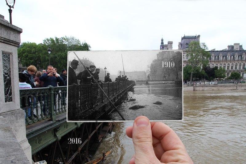 パリ大洪水 1910 2016 4