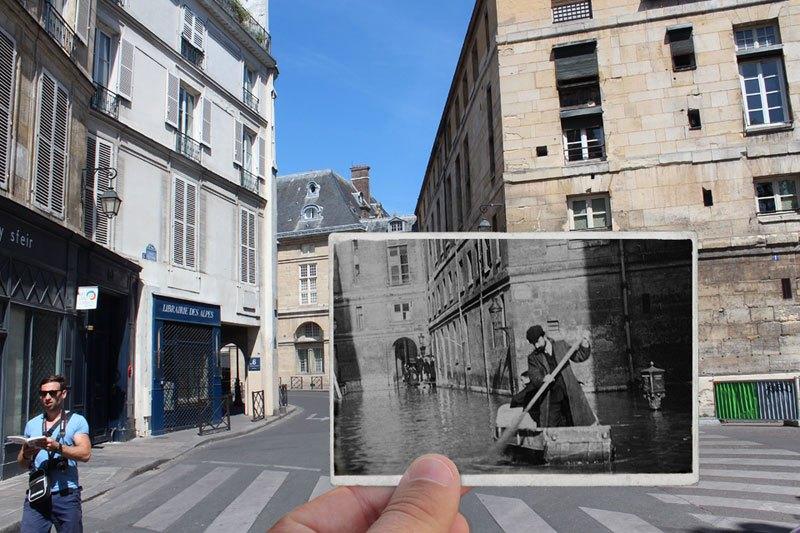 パリ大洪水 1910 2016 5
