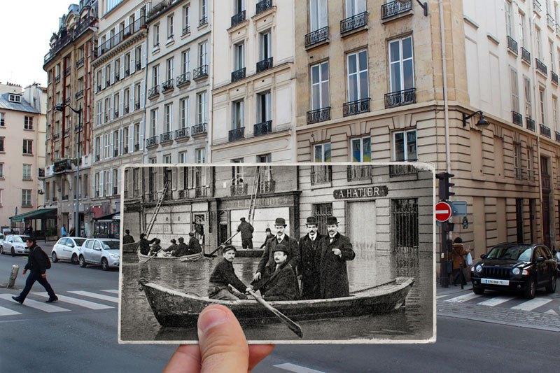 パリ大洪水 1910 2016 2
