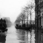 1910年と2016年のパリ洪水: 同じ場所から比較した写真