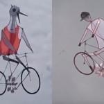 【動画】台湾の職人による「自転車の凧」が不気味で可愛くてすごい