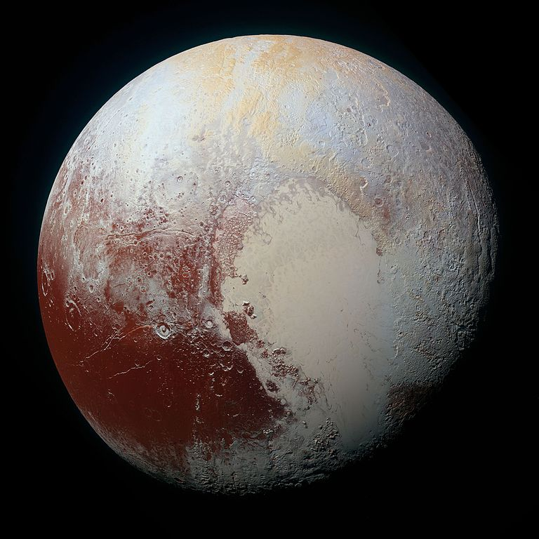 NASA 冥王星