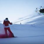 【動画】ドローンを使った新時代すぎるスノーボード