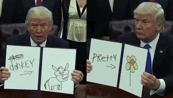 トランプ大統領 パロディ