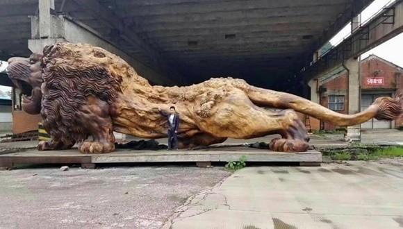獅子 彫刻 thumb