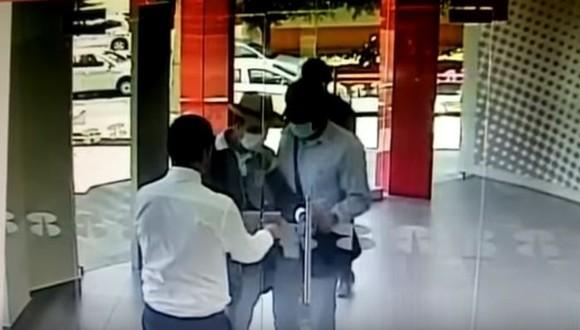 メキシコ 銀行強盗