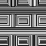 【トリックアート】この画像には16個の「円」が隠れている
