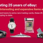 eBayランキング、過去に最も高額で取引された商品トップ10